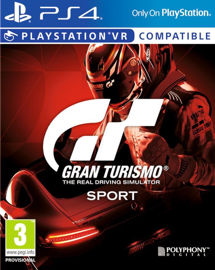 Gran Turismo Sport è disponibile su PS4 e PSVR