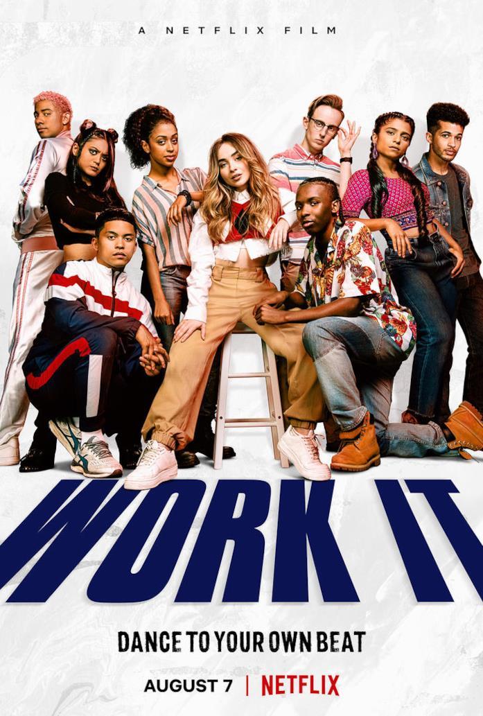 Il cast di Work It