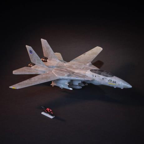Il Transformers di Top Gun in versione jet