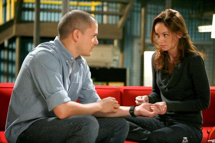 Sarah Wayne Callies e Michael Scofield