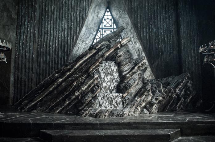 Il trono di Roccia del Drago in GoT