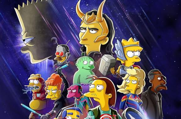 Loki conquista anche i Simpson: arriva un episodio speciale dedicato a Marvel