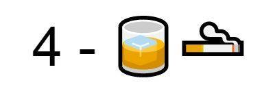 Emoji birra sigarette