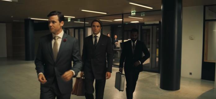 Una scena del trailer di Tenet di Christopher Nolan