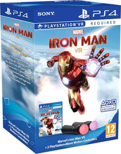 Marvel's Iron Man VR + PS Move Twin Pack - PlayStation 4 [Esclusiva Amazon]