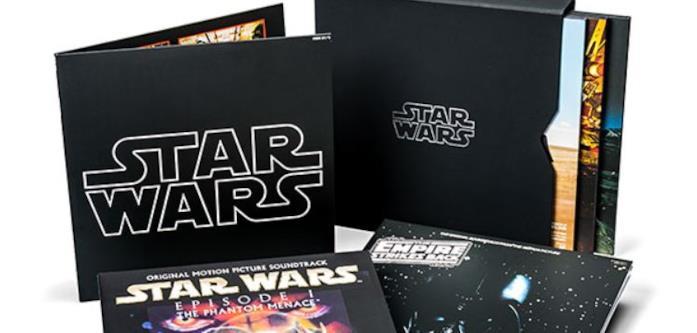 Cover della collezione in vinile di Star Wars