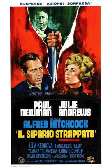 Poster Il sipario strappato
