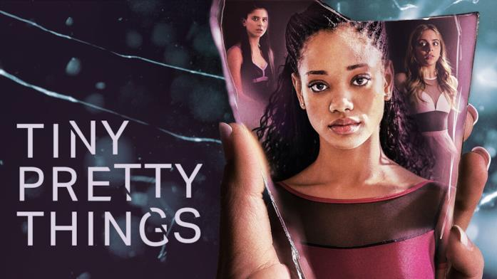 Kylie Jefferson nel poster di Tiny Pretty Things