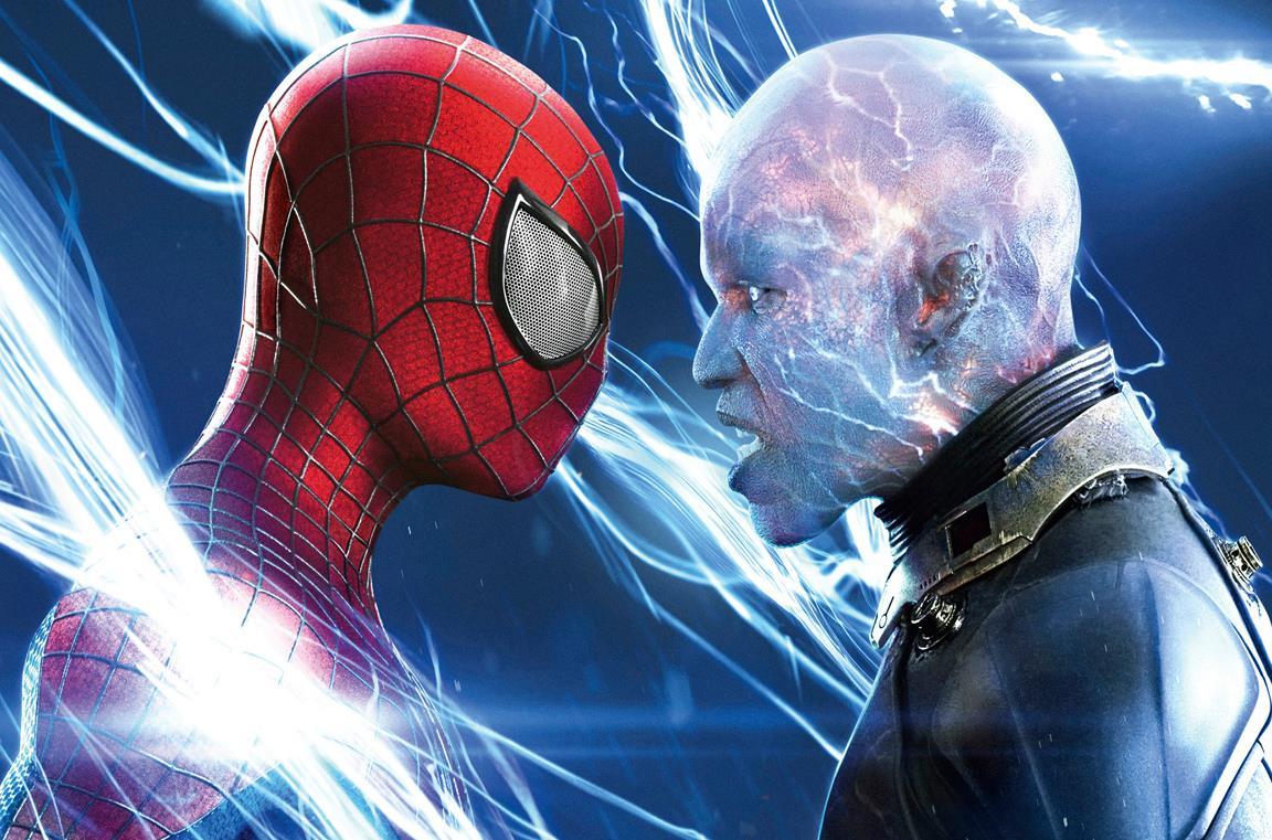 Un'immagine di Spider-Man ed Electro