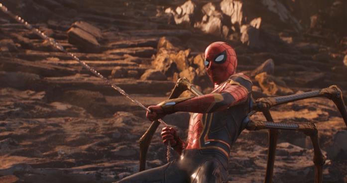 Iron Spider in combattimento
