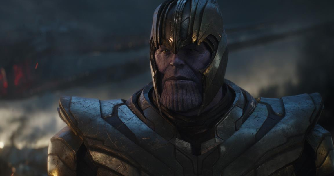 Josh Brolin è Thanos in Avengers: Endgame