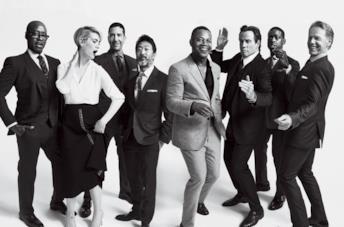 Il cast di American Crime Story in una divertente foto in bianco e nero
