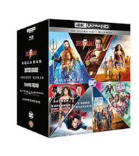 Dc Comics Boxset 7 Film (4K+Br) (Box 14 4K) Shazm-Aquaman-Justice League-Wonder