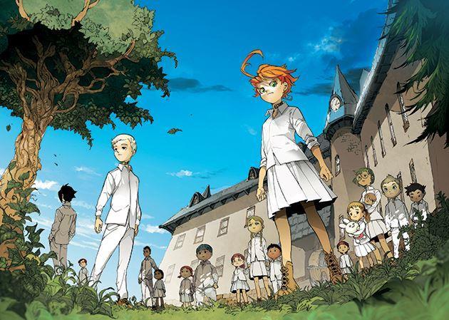Promised Neverland anime e manga