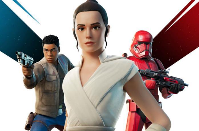 Le tre skin bonus dell'evento Fortnite x Star Wars