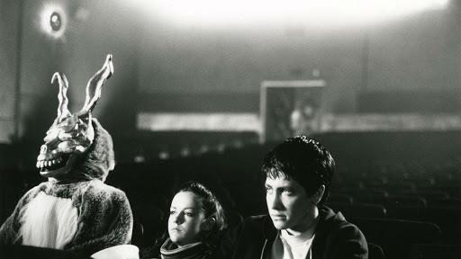 Donnie, Gretchen e il coniglio Frank al cinema