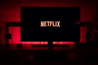 Uno schermo sintonizzato su Netflix