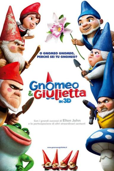 Poster Gnomeo & Giulietta