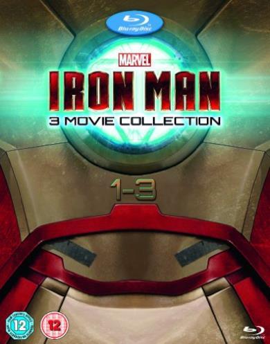 Cofanetto Blu-ray di Iron Man - Film 1-3