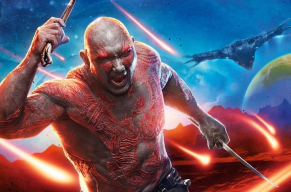 Guardiani della Galassia 3 potrebbe essere l'ultimo film per Drax, ne parla Dave Bautista