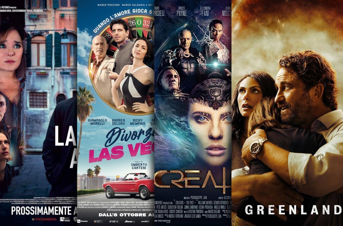 I poster di Lasciami andae, Divorzio a Las Vegas, Creators - The Past, Greenland
