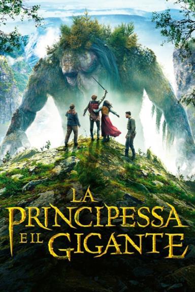 Poster La principessa e il gigante