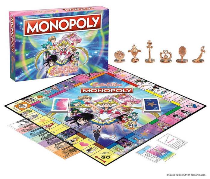 Il gioco da tavolo ispirato all'anime Sailor Moon