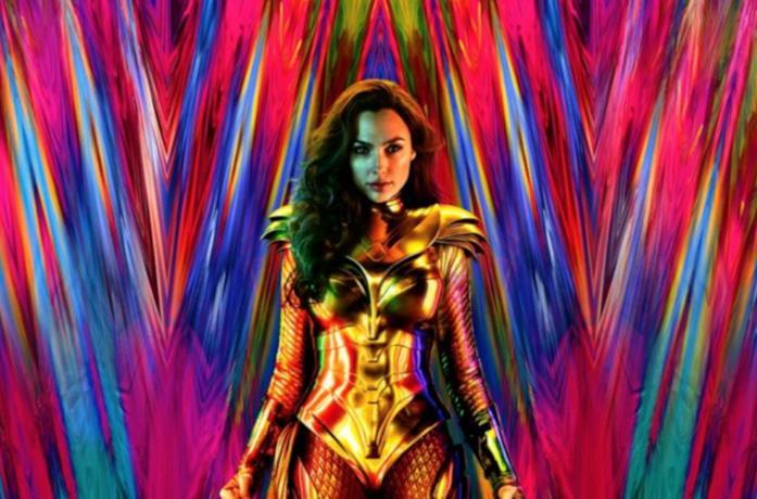 Gal Gadot nelle vesti di Wonder Woman