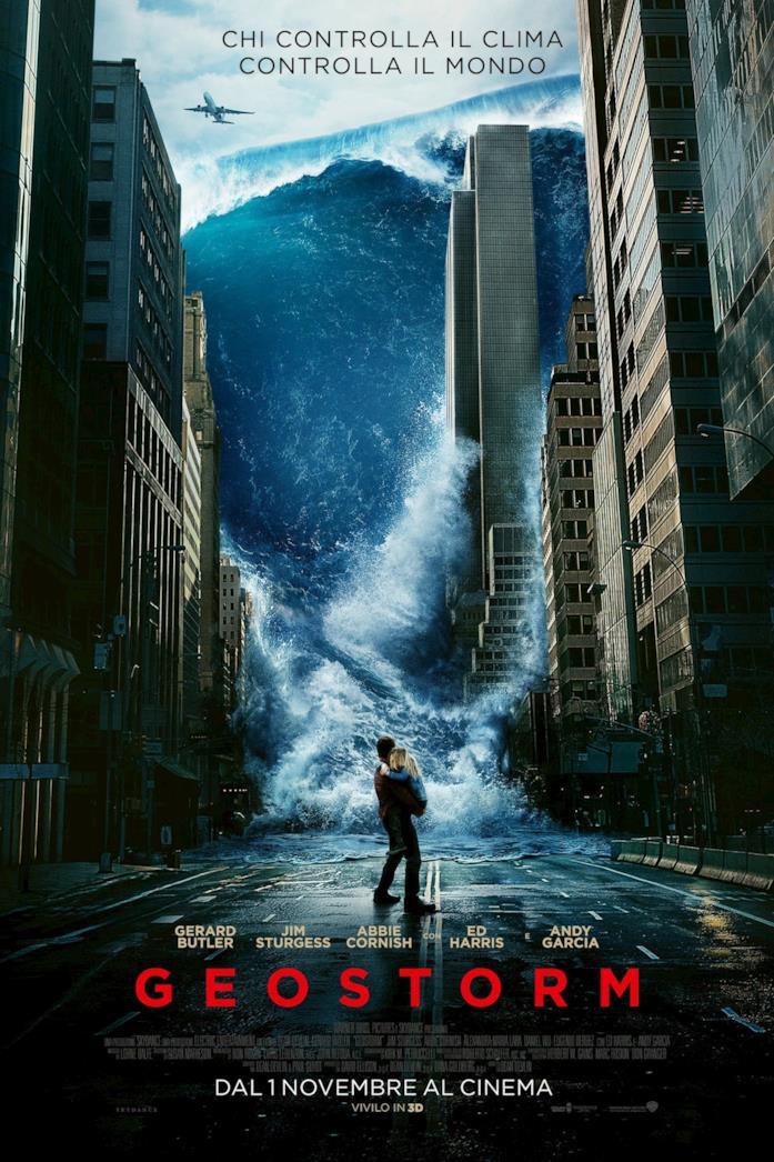 Il poster di Geostorm