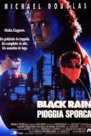 Poster Black Rain - Pioggia sporca