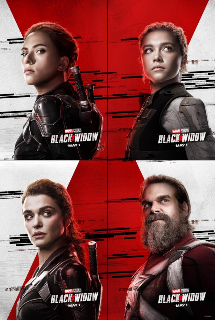 I character poster di Black Widow