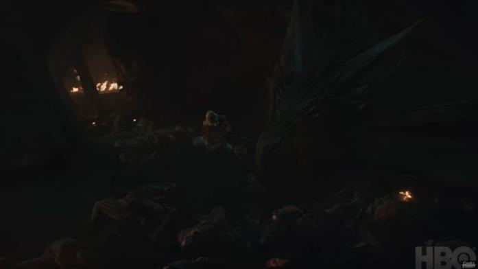 GoT 8x03: Dany e Ser Jorah morente