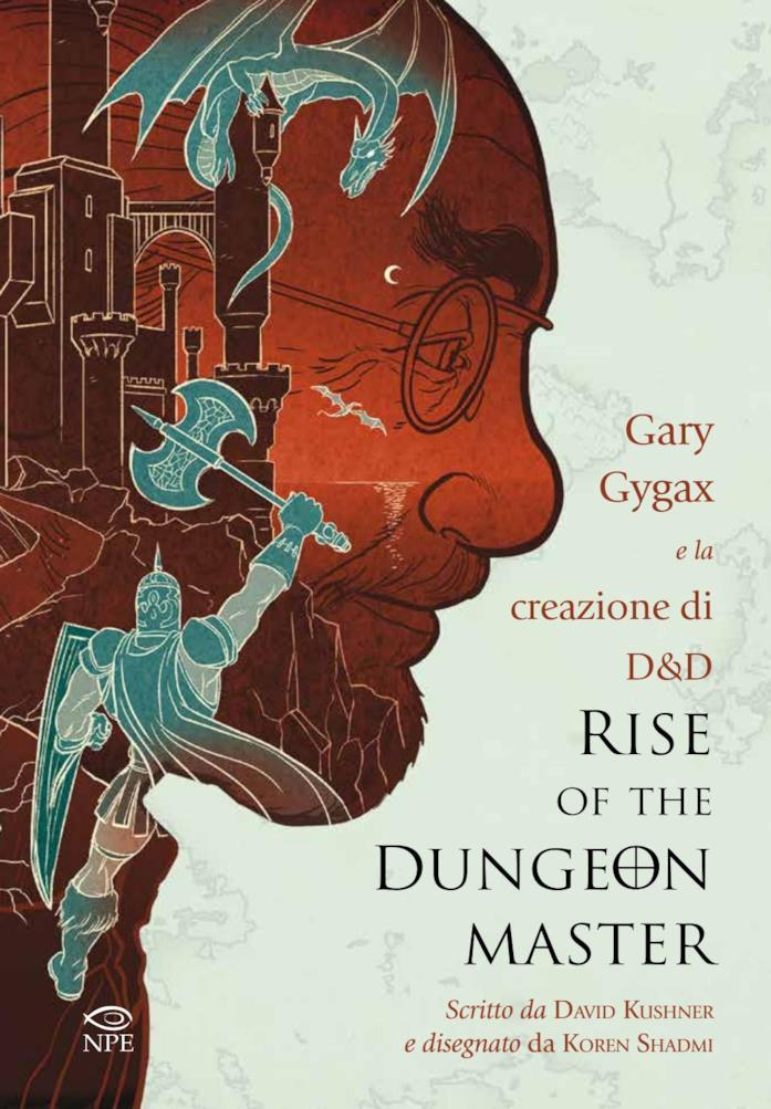 La copertina di Rise of the Dungeon Master