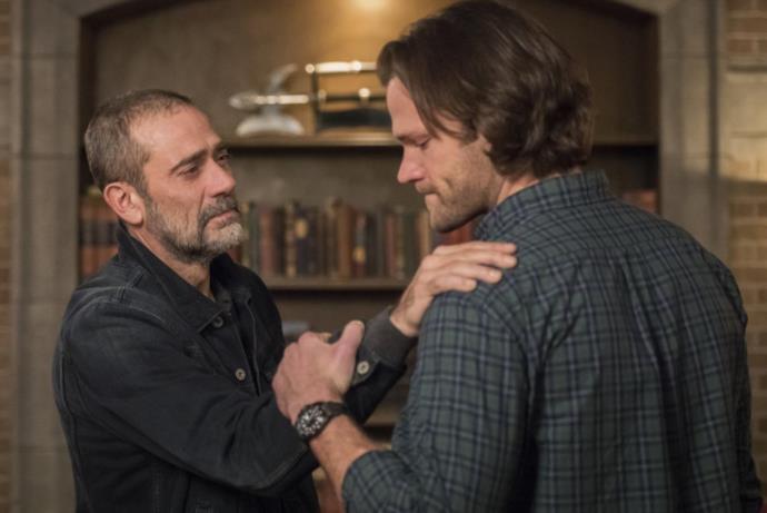 Sam e John Winchester nell'episodio 300 di Supernatural