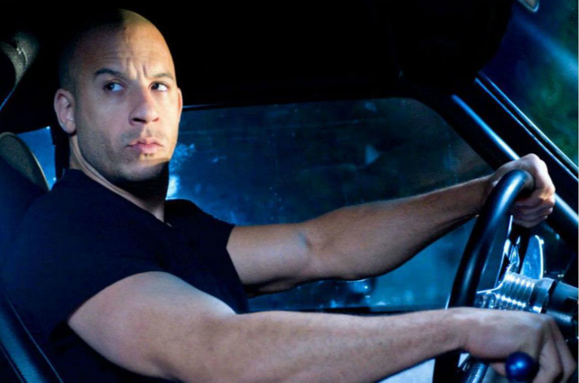 Un'immagine di Vin Diesel nei panni di Dom Toretto.