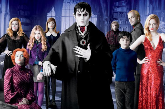 Il cast di Dark Shadows