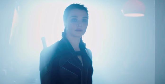 Rachel Weisz in una scena del film Black Widow