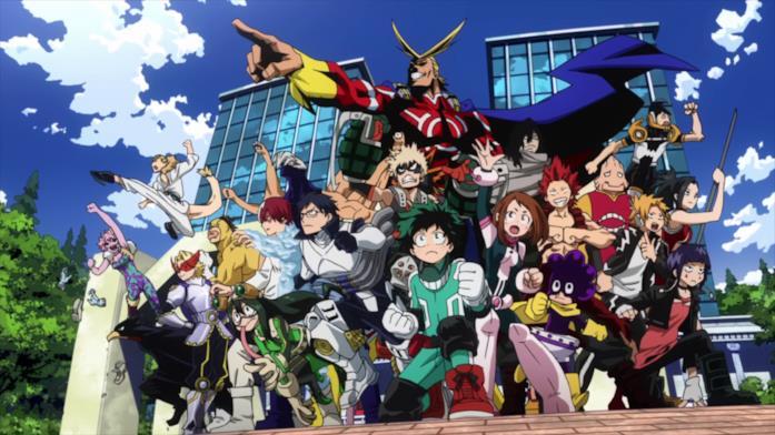 My Hero Academia protagonisti