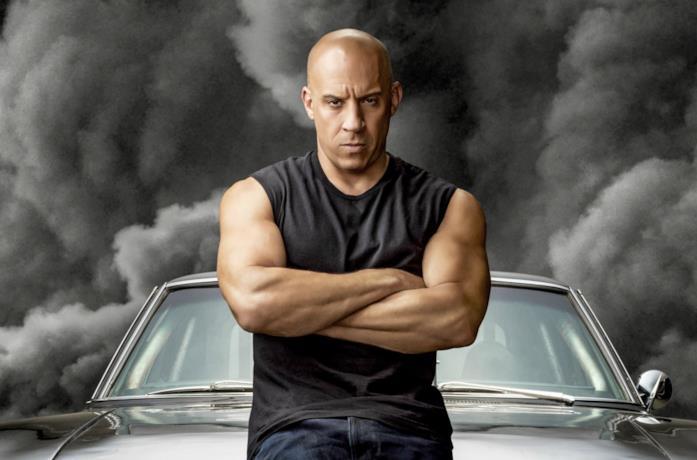 Vin Diesel nel character poster