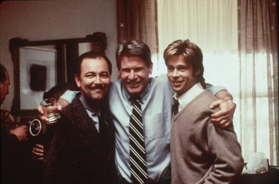 Harrison Ford, Rubén Blades e Brad Pitt