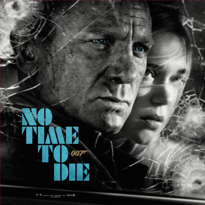 il poster di No Time To Die