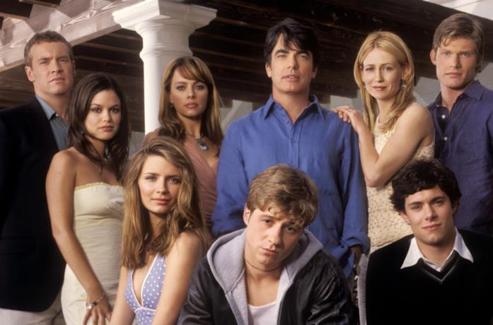 Il cast di The O.C. in un primo piano