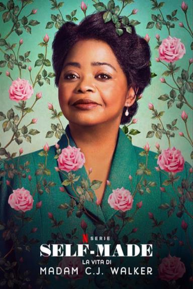 Poster Self-made: la vita di Madam C.J. Walker