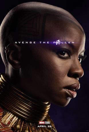 Avenger the fallen, i sopravvissuti: Okoye