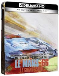 Le Mans 66 - Ford Vs Ferrari Steelbook (Limited Edition) (2 Blu Ray)