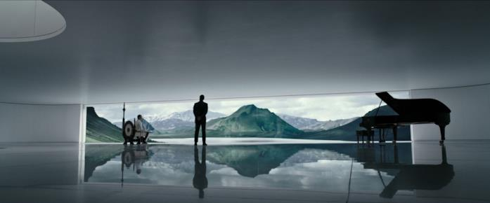 Guy Pierce e Michael Fassbender interpretano Weyland e David