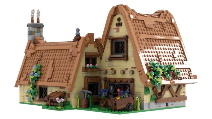 Casa LEGO di Biancaneve e i sette nani