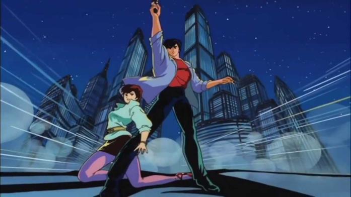 City Hunter Ryo e Kaori Anime