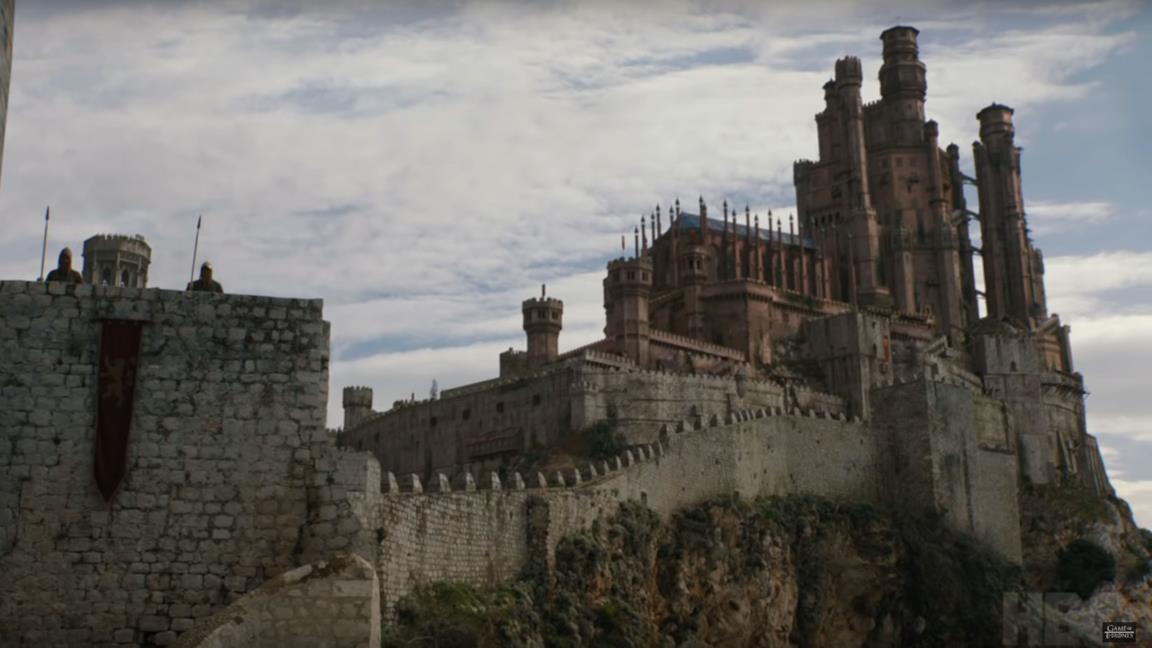 La Fortezza Rossa ad Approdo del Re