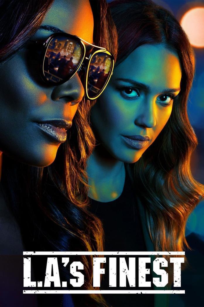 Jessica Alba e Gabrielle Union nel poster di L.A.'s Finest